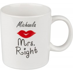 Tasse «Mrs. Right»
